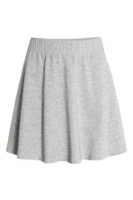 Bell-shaped skirt - Grey marl - Ladies | H&M 2